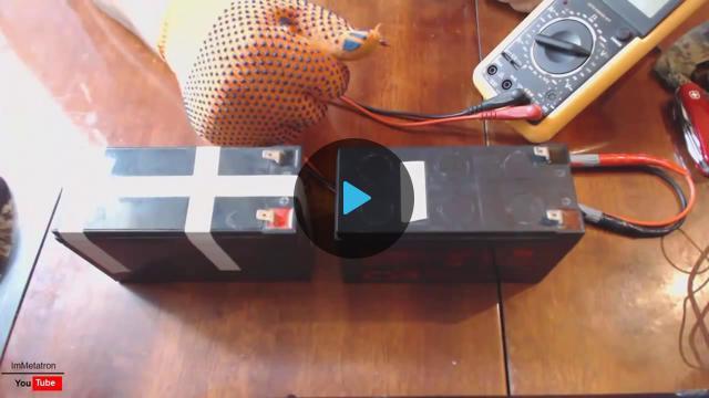 Как восстановить аккумулятор скутера