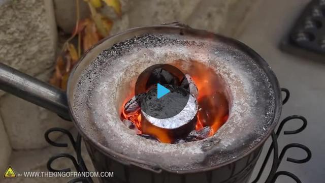 Стекло плавка в домашних условиях видео