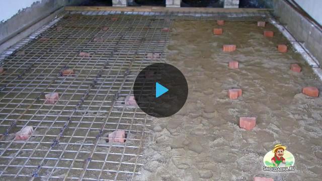 как сделать бетонный пол в гараже - TheSame.tv - это видеоагрегатор партнерской программы MoeVideo, позволяющей вебмастерам зара