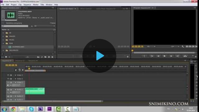 Как сделать на видео качественный звук