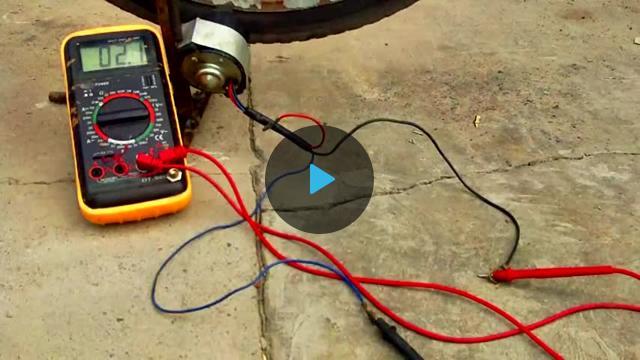 Как сделать своими руками генератор на 220 вольт видео
