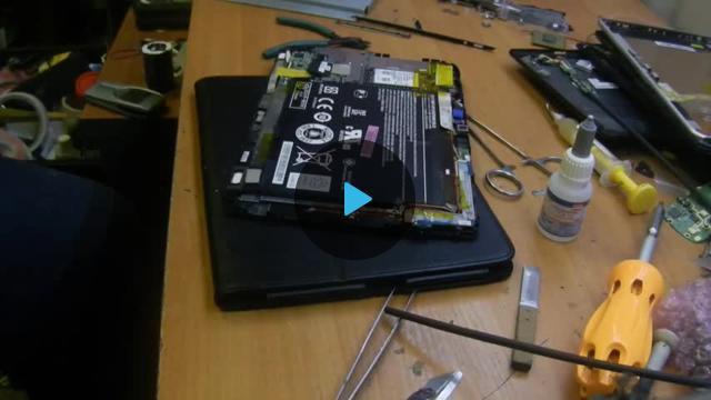 Acer a701 переделка зарядки