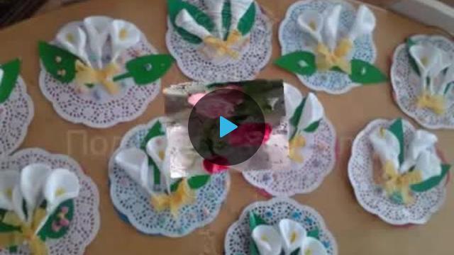 Программа поделки из ватных дисков