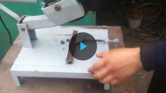 Поделки из болгарки  видео